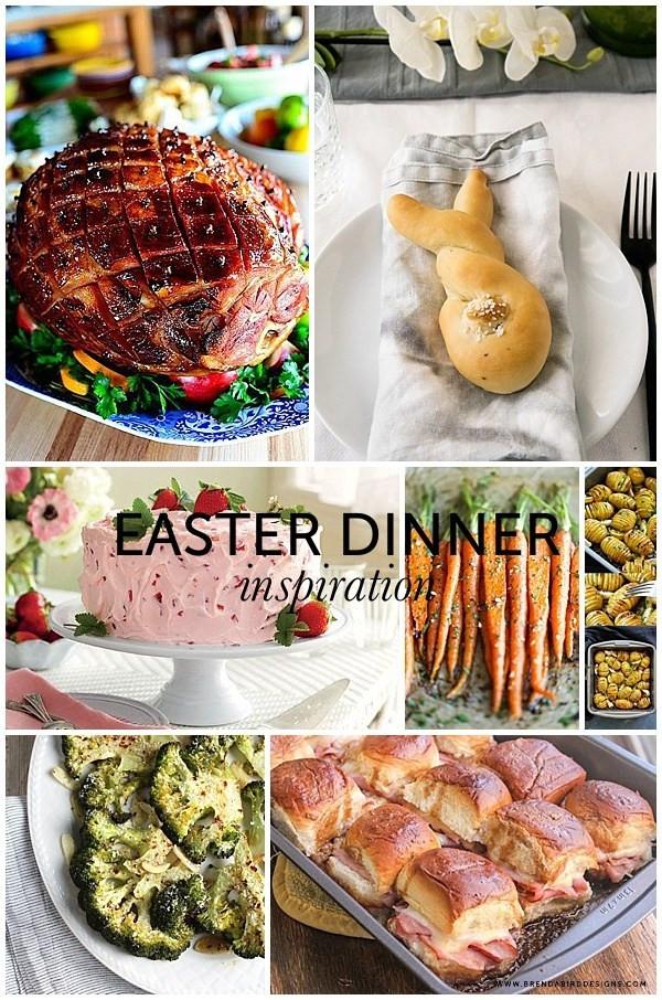 Free Easter Dinners  Easter Dinner Inspiration Free Printable BRENDA BIRD