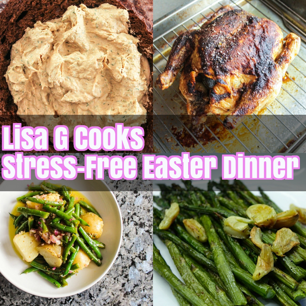 Free Easter Dinners  Stress Free Easter Dinner Lisa G Cooks