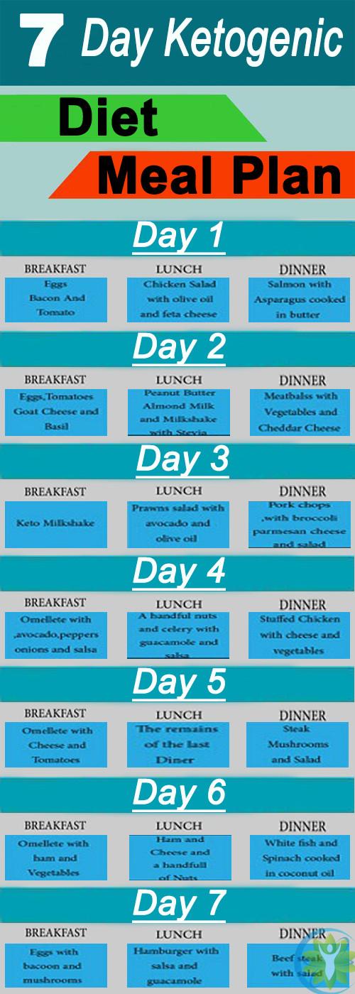 Free Keto Diet Plan  Ketogenic Diet – 7 Day Ketogenic Diet Meal Plan