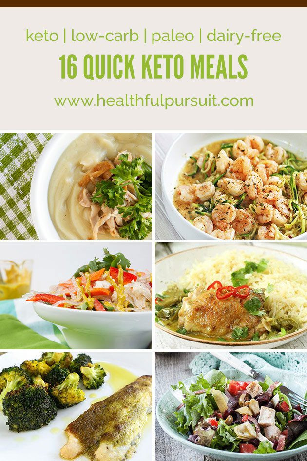 Free Keto Diet Recipes  16 Quick Keto Meals low carb paleo dairy free