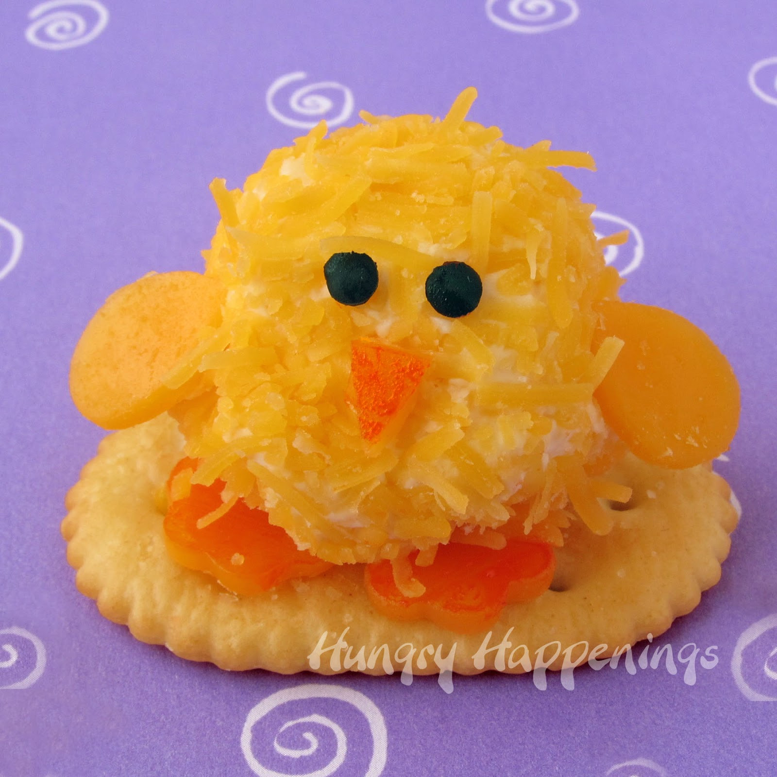 Fun Easter Appetizers  Easter Appetizers Baby Chick Cheese Balls are so CUTE