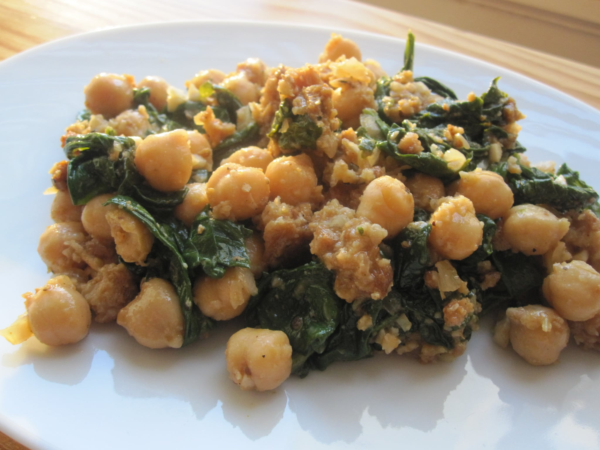 Garbanzo Beans Recipes Vegetarian  Spinach With Garbanzo Beans Recipe