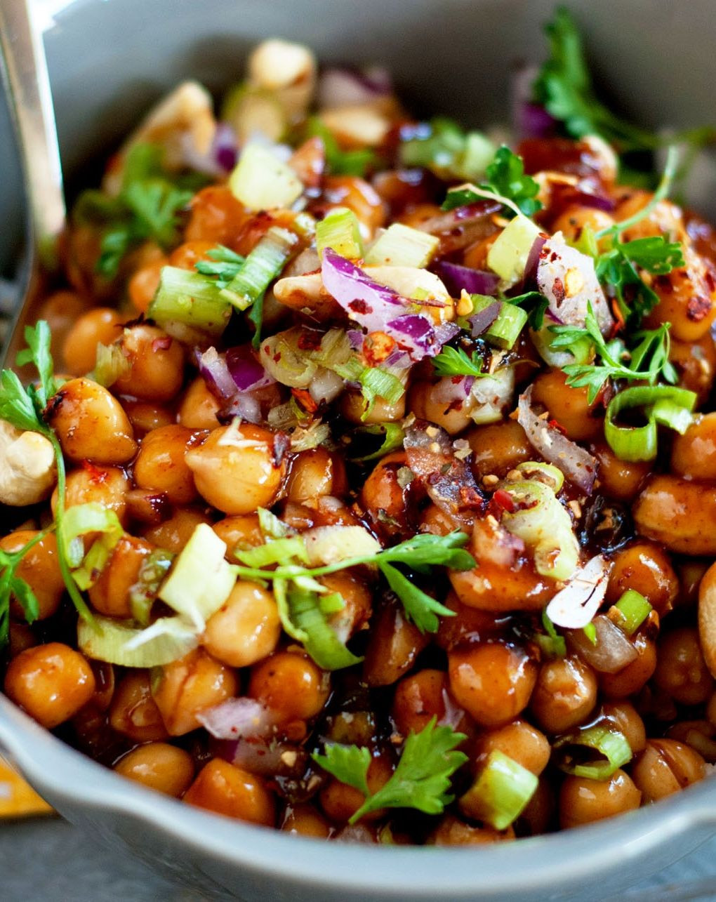 Garbanzo Beans Recipes Vegetarian  Swap the meat with flavorful chickpeas in this classic