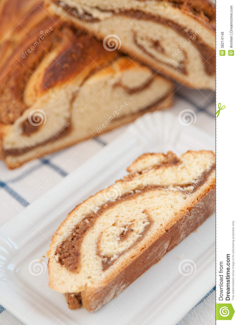 German Easter Bread  Sweet German Easter Bread Royalty Free Stock