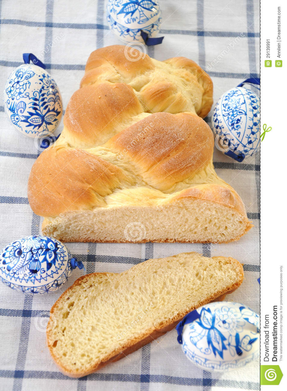 German Easter Bread  Sweet German Easter Bread Stock Image Image