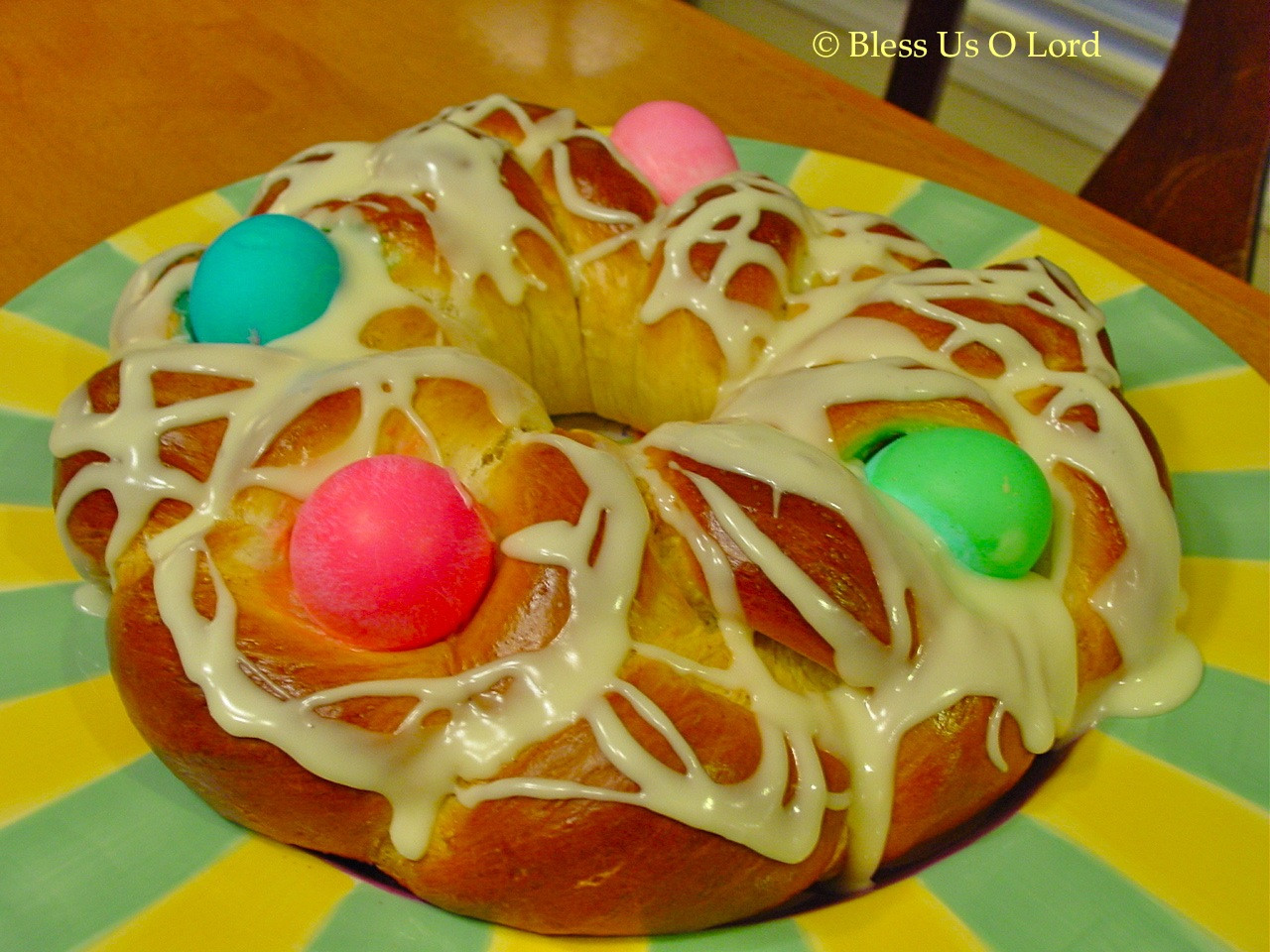 German Easter Bread  Bless Us O Lord Easter Bread