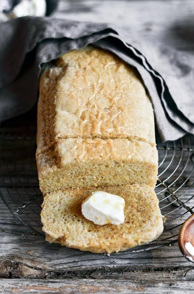 Gluten And Dairy Free Bread  Healthy 5 Minute Gluten Free Paleo Bread Paleo Gluten