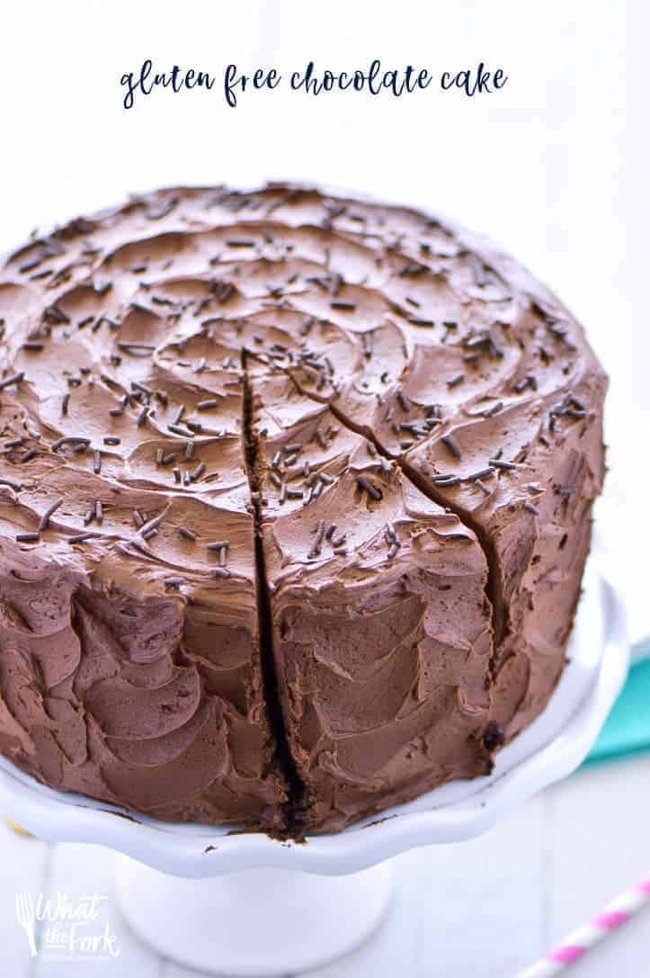 Gluten And Dairy Free Cake Recipes Easy  The Best Gluten Free Chocolate Cake Recipe What the Fork