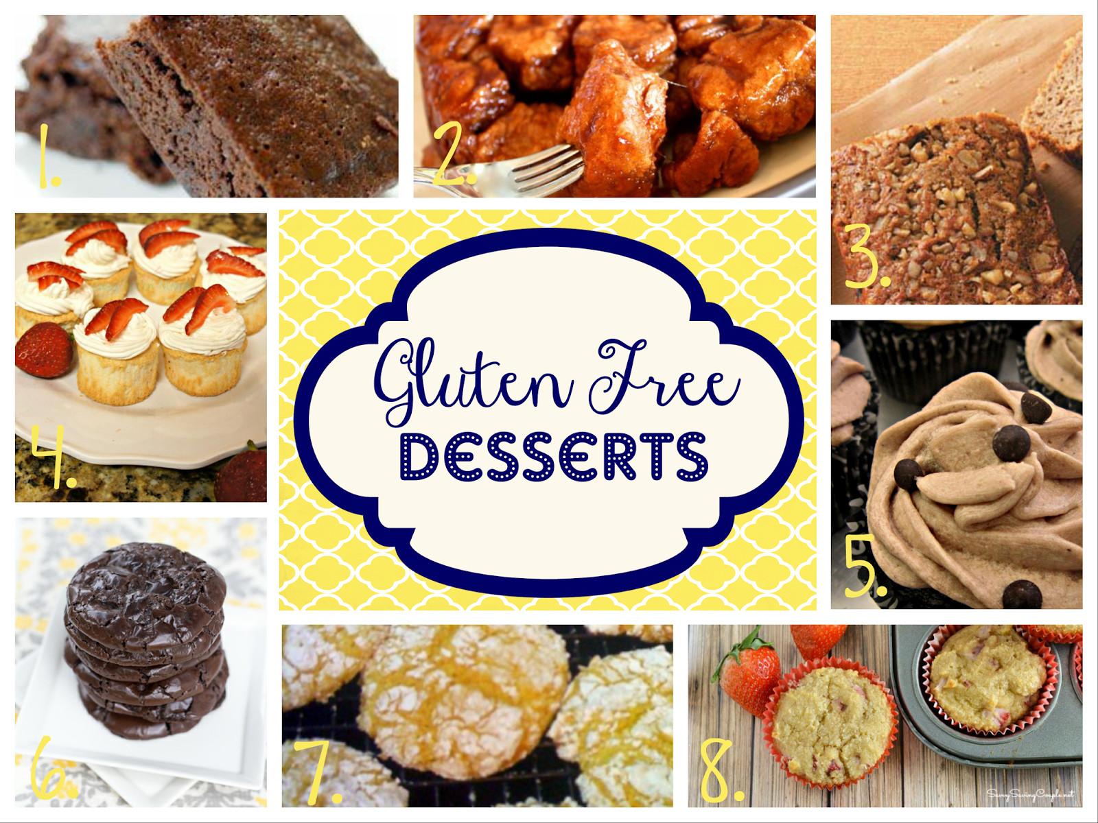 Gluten And Dairy Free Dessert Recipes  Storage Grace GLUTEN FREE Dessert Recipes Easy