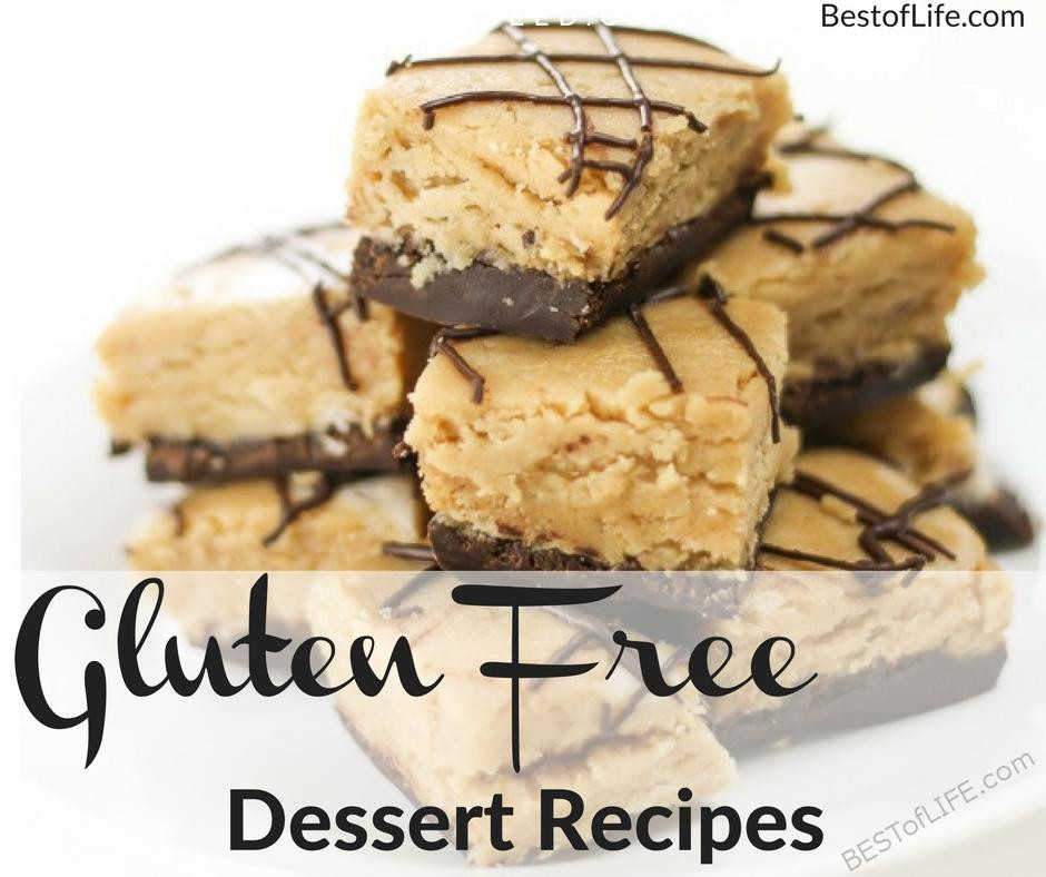 Gluten And Dairy Free Dessert Recipes  Gluten Free Desserts for Parties that Everyone will Love