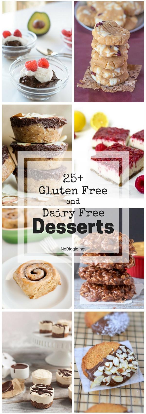 Gluten And Dairy Free Dessert Recipes  25 Gluten Free and Dairy Free Desserts