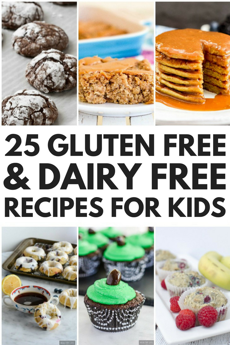 Gluten And Dairy Free Dessert Recipes  24 Simple Gluten Free and Dairy Free Recipes for Kids