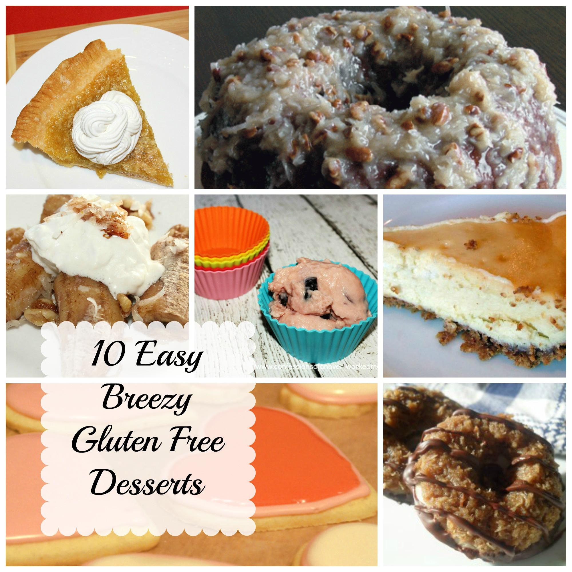 Gluten And Dairy Free Desserts  10 Gluten Free Desserts