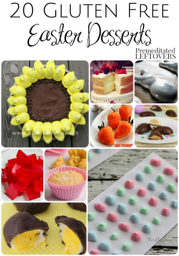 Gluten And Dairy Free Desserts To Buy  20 Gluten Free Easter Dessert Recipes