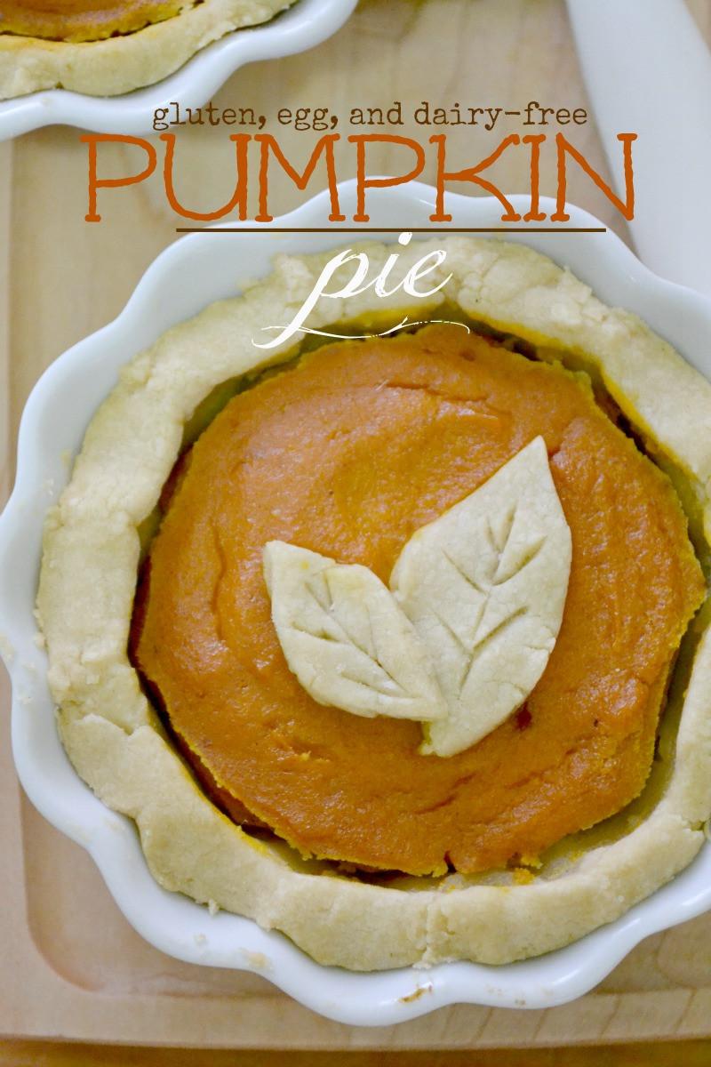 Gluten And Dairy Free Pumpkin Pie  Gluten free and Vegan Pumpkin Pie Fork and Beans