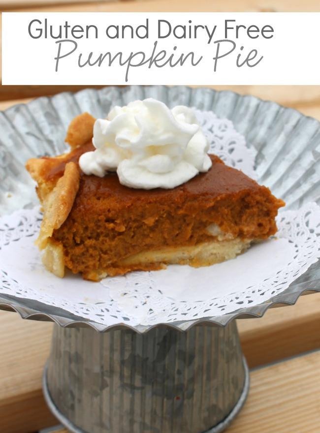 Gluten And Dairy Free Pumpkin Pie  Gluten Free Dairy Free Pumpkin Pie