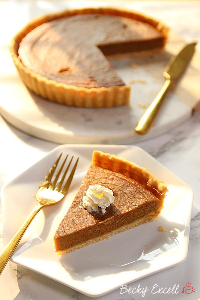 Gluten And Dairy Free Pumpkin Pie  Gluten Free Pumpkin Pie Recipe dairy free and low FODMAP