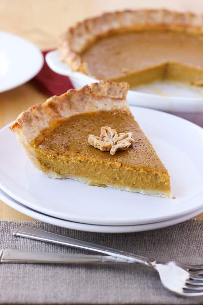 Gluten And Dairy Free Pumpkin Pie  Gluten Free Pumpkin Pie Dairy Free Meaningful Eats