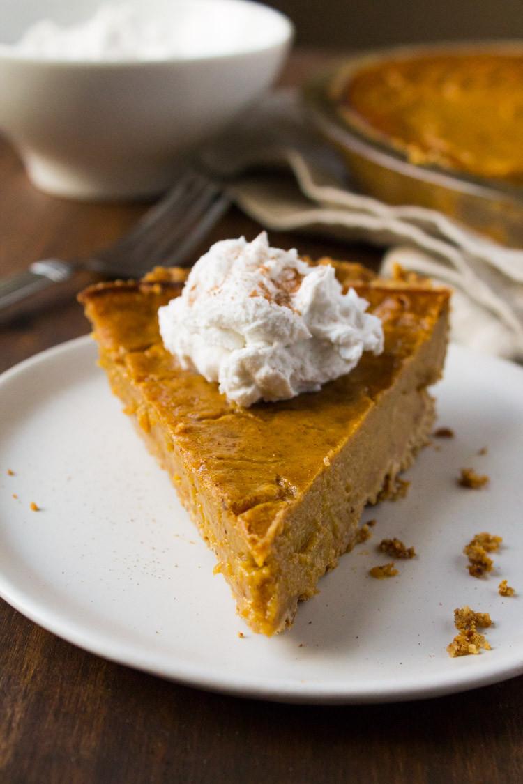 Gluten And Dairy Free Pumpkin Pie  Kara Lydon