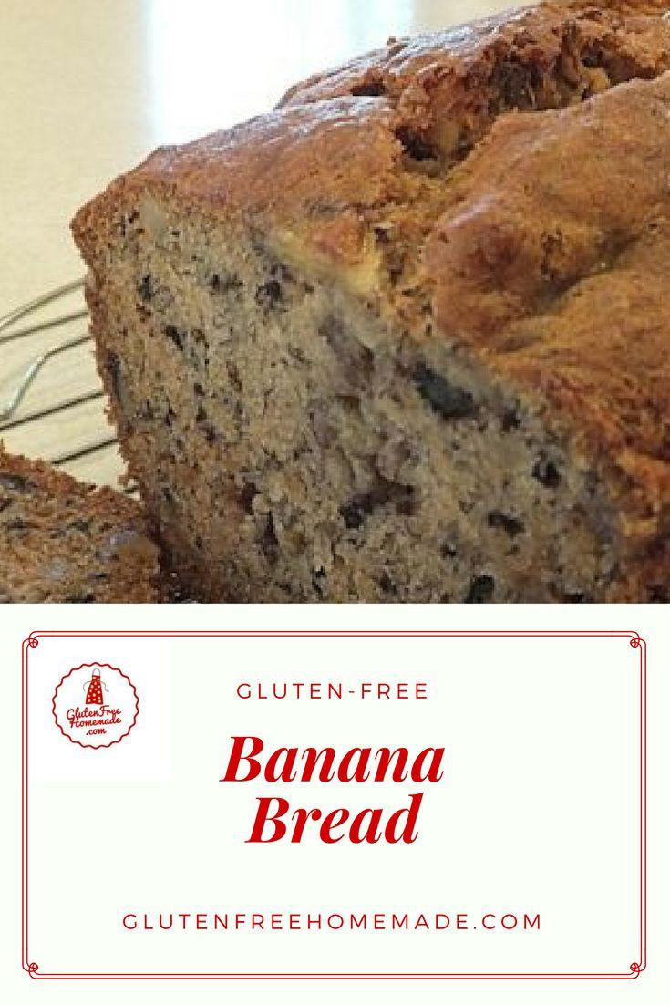 Gluten Dairy Free Banana Bread  Gluten Free Banana Bread Dairy Free Egg Free