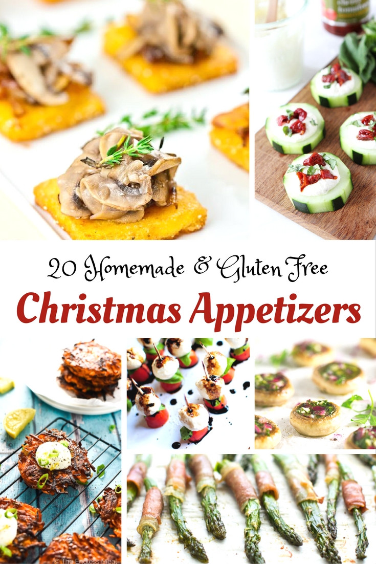 Gluten Free And Dairy Free Appetizers  Here are a Few Gluten Free Christmas Appetizer Ideas to