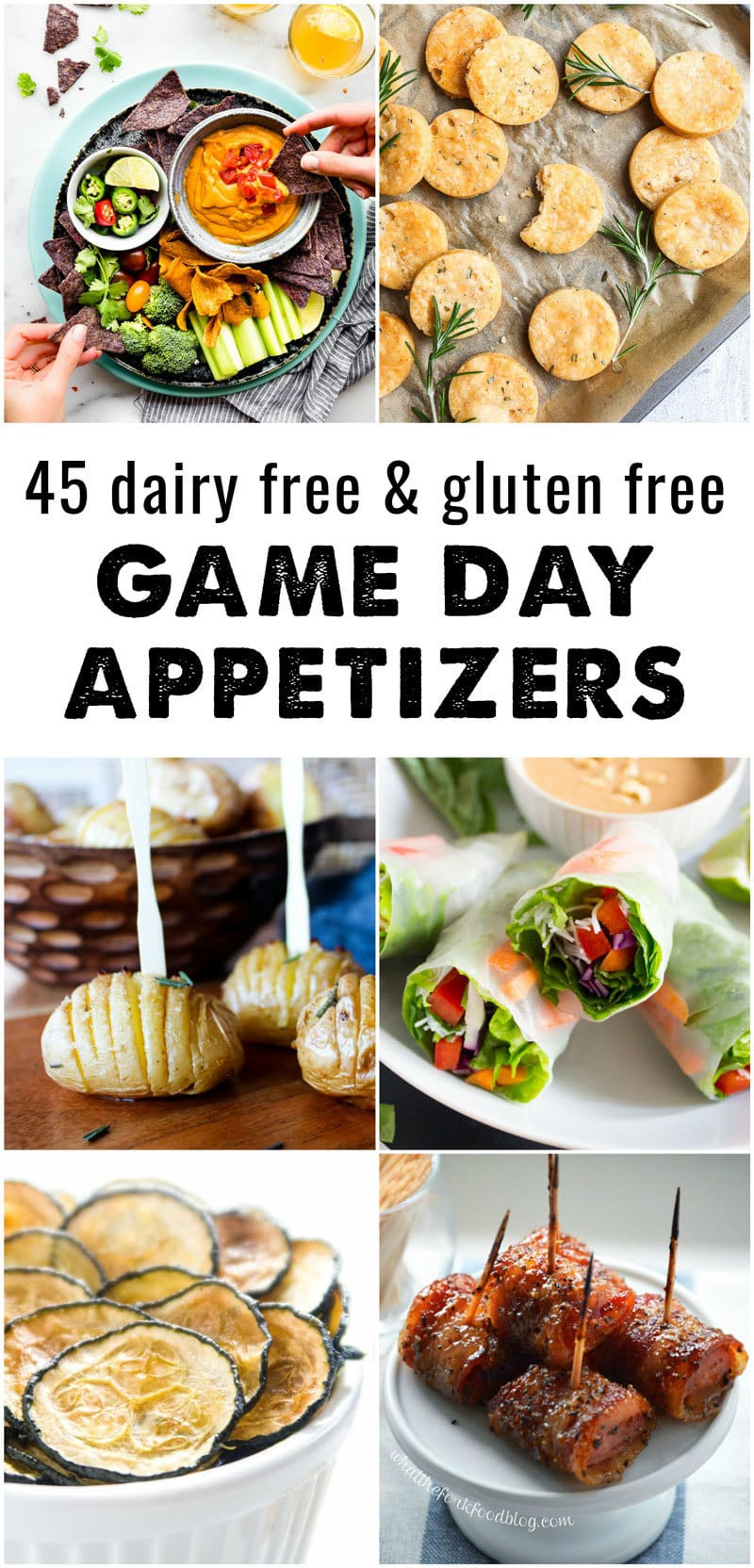 Gluten Free And Dairy Free Appetizers  45 Dairy Free and Gluten Free Appetizers • The Fit Cookie