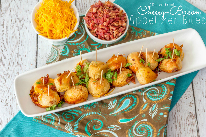 Gluten Free And Dairy Free Appetizers  Gluten Free Cheesy Bacon Appetizers Around My Family Table