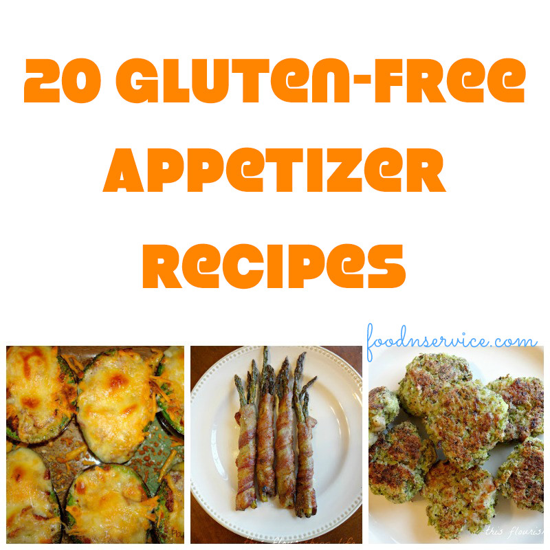 Gluten Free And Dairy Free Appetizers  20 Amazing Gluten Free Appetizer Recipes