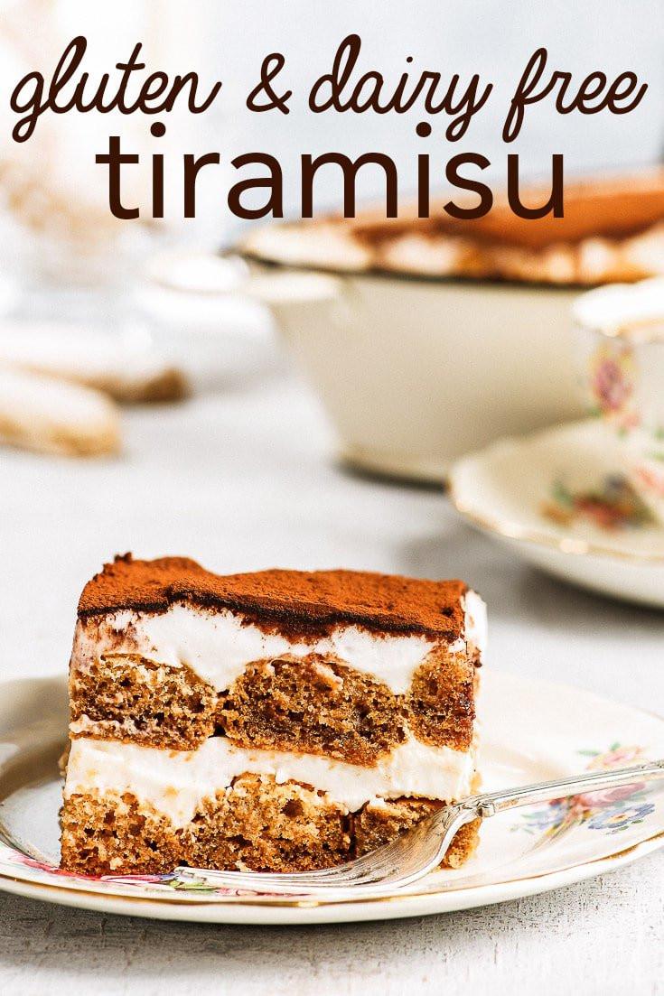 Gluten Free And Dairy Free Desserts  Dairy & Gluten Free Tiramisu The Loopy Whisk