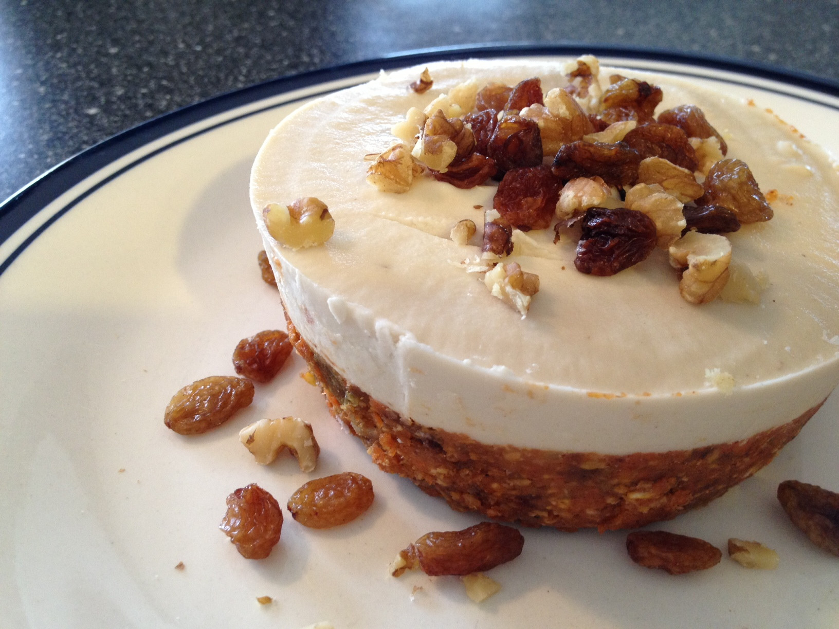 """Gluten Free And Dairy Free Desserts  Raw Carrot Cake """"Cheese""""cake Gluten Free Dairy Free"""