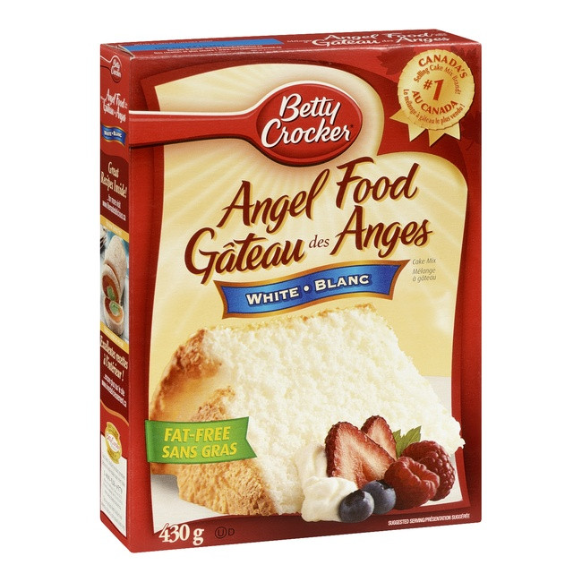 Gluten Free Angel Food Cake Mix  Betty Crocker Angel Food Cake Mix White