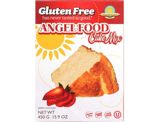 Gluten Free Angel Food Cake Mix  Kinnikinnick Gluten Free Angel Food Cake Mix 16 Ounce