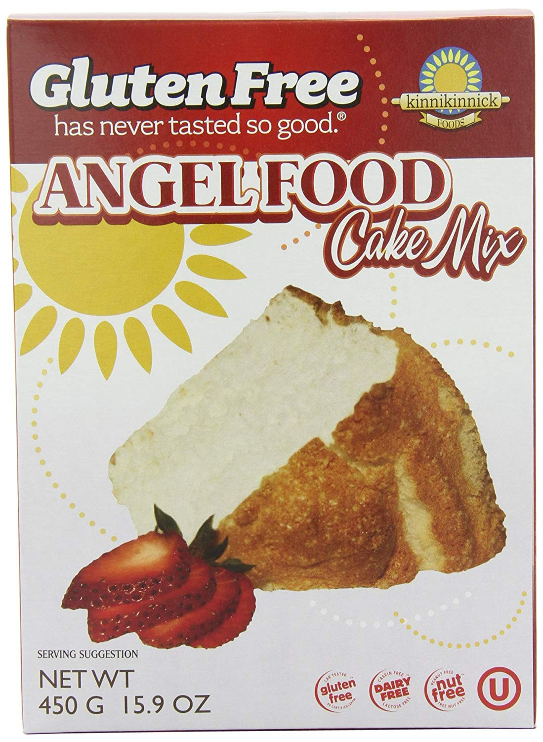 Gluten Free Angel Food Cake Mix  cake and cupcakes sold direct from the baker at Farmers