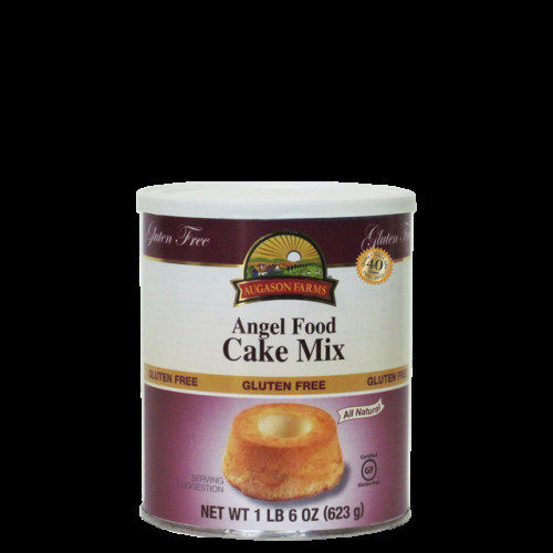 Gluten Free Angel Food Cake Mix  Augason Farms Gluten Free Cake Mix Angel Food Everyday