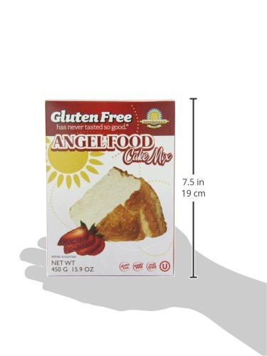 Gluten Free Angel Food Cake Mix  Kinnikinnick Gluten Free Angel Food Cake Mix 15 9 Ounce
