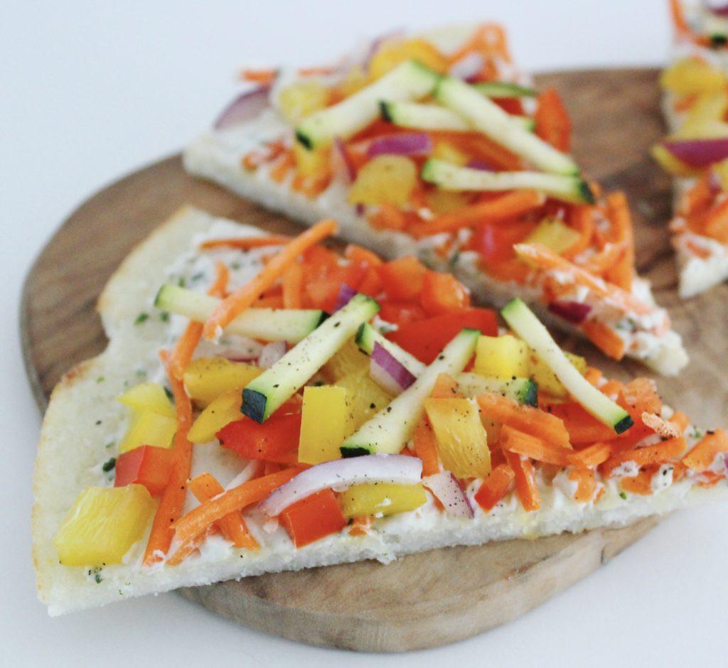 Gluten Free Appetizers Trader Joe'S  Cold Garden Veggie Pizza Vegan Gluten Free