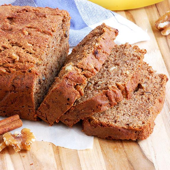 Gluten Free Banana Bread Recipe  gluten free banana nut bread