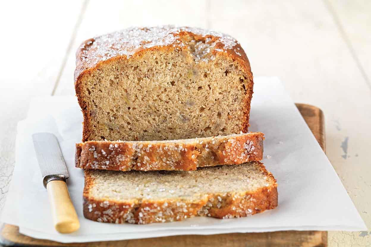 Gluten Free Banana Bread Recipe  Gluten Free Quick & Easy Banana Bread made with baking mix