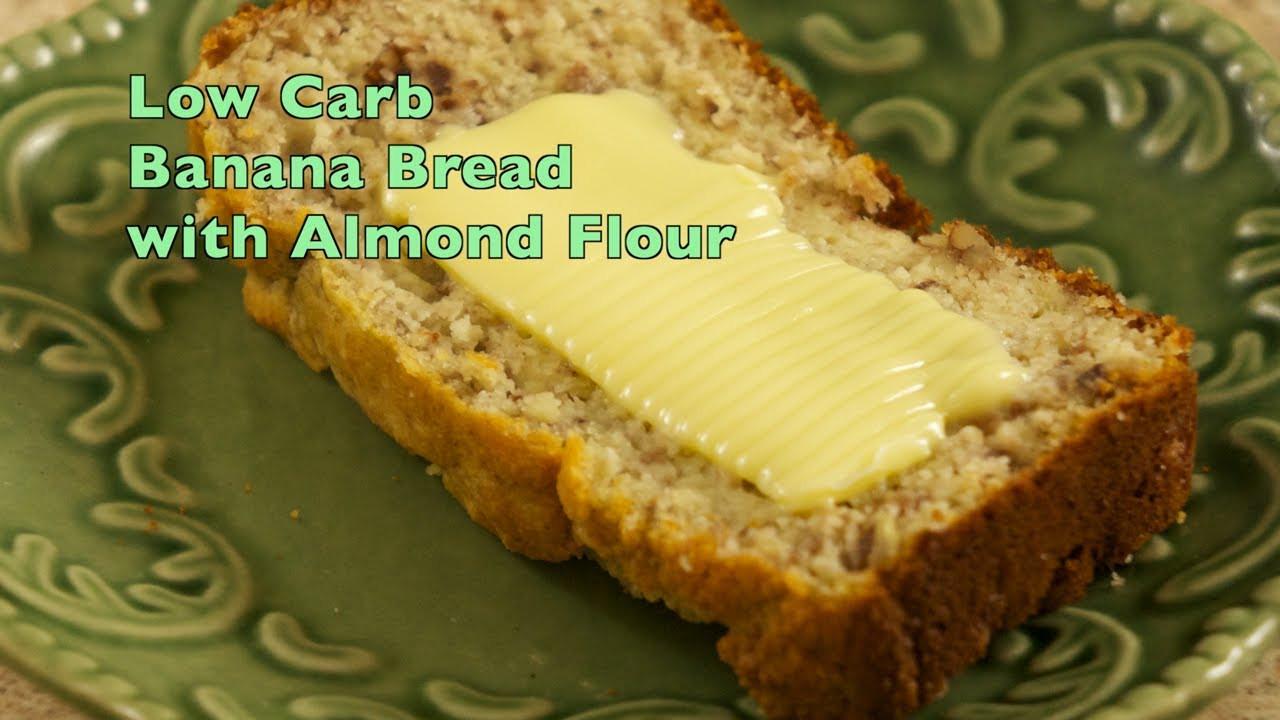 Gluten Free Banana Bread With Almond Flour  Almond Flour Banana Bread Lower Carb Gluten Free Wheat