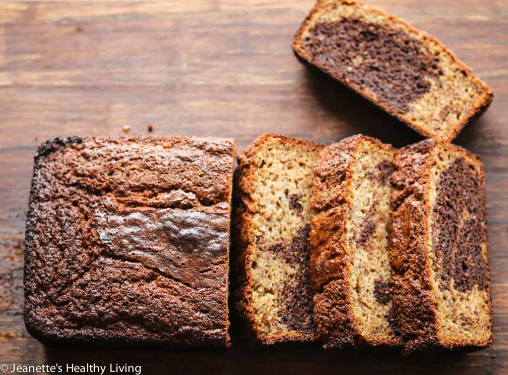 Gluten Free Banana Bread With Almond Flour  Gluten Free Marbled Chocolate Banana Quick Bread Recipe