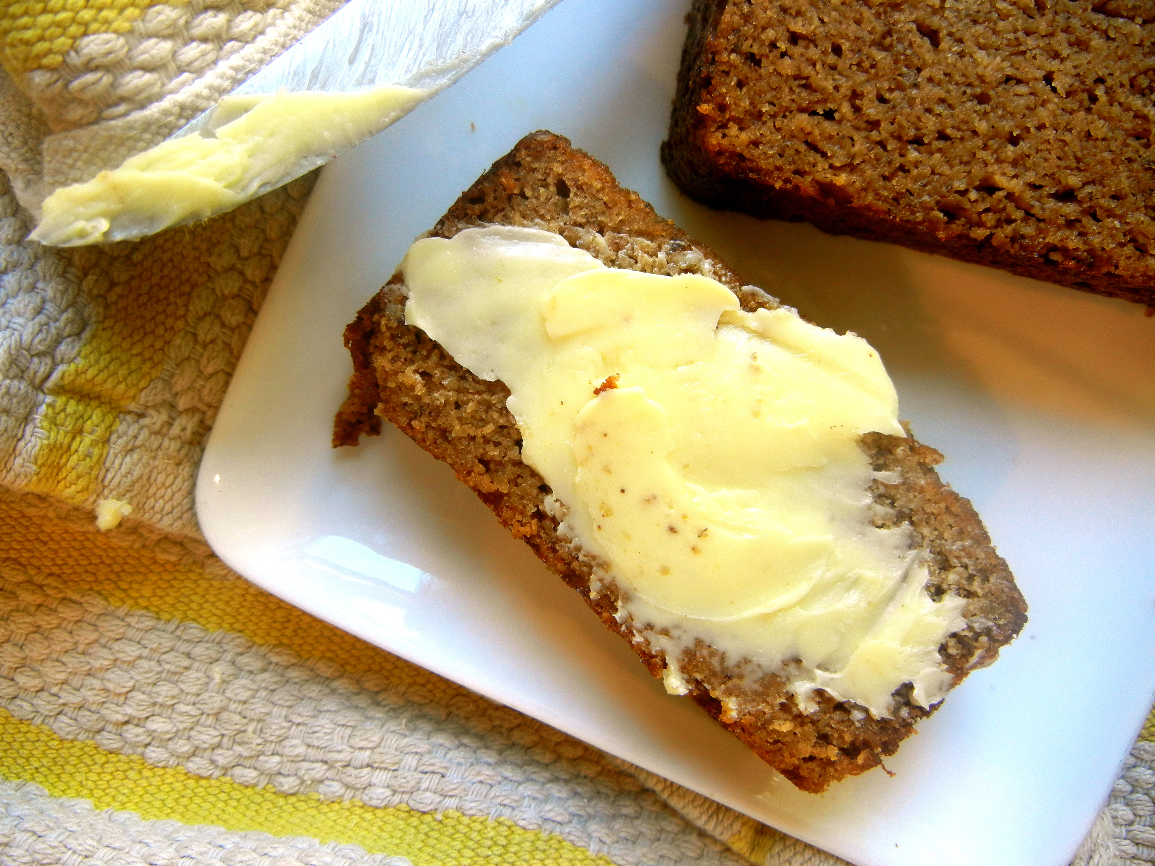 Gluten Free Banana Bread With Coconut Flour  Paleo Friends Thanksgiving Roundup gluten and dairy free