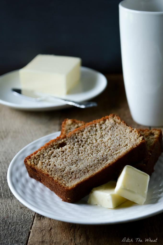 Gluten Free Banana Bread With Coconut Flour  Coconut Flour Banana Bread