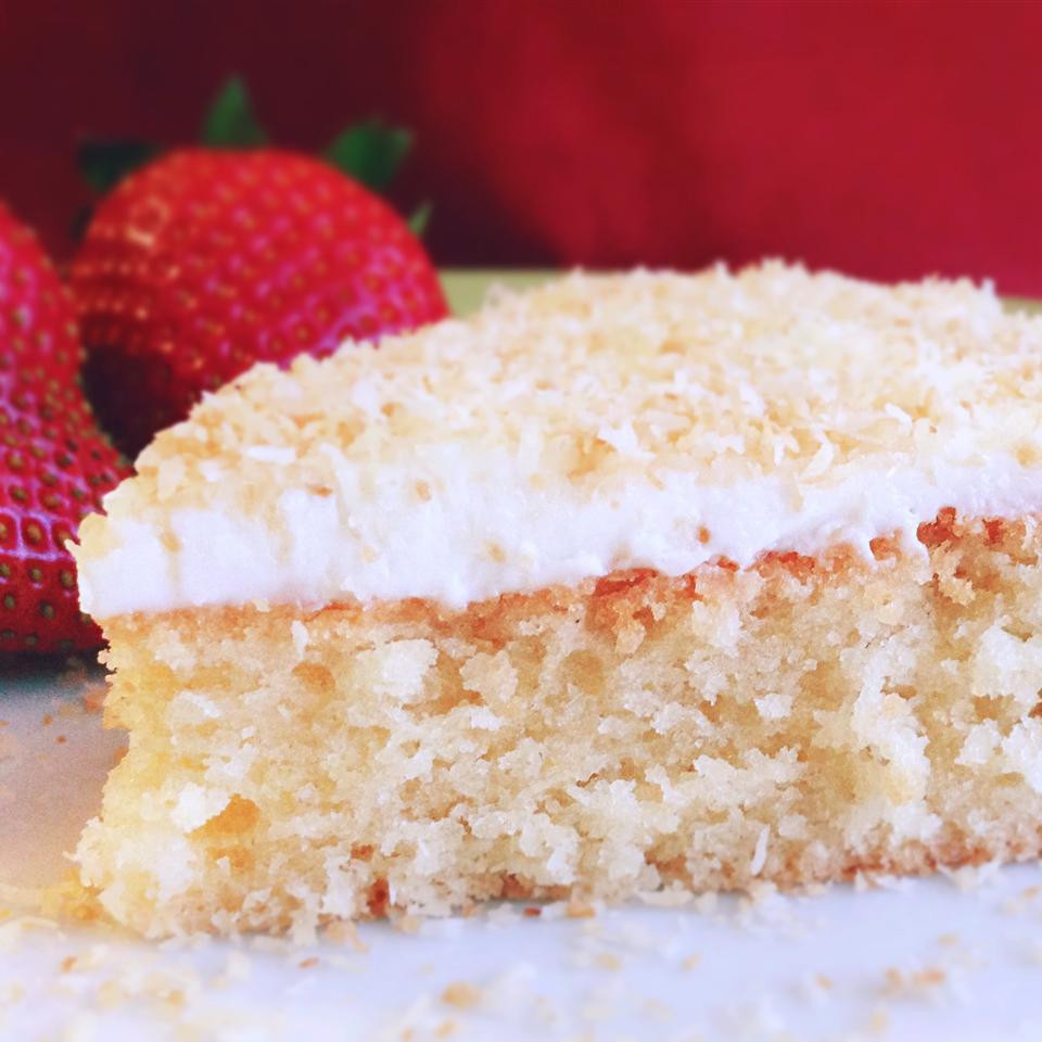 Gluten Free Birthday Cake Recipes  Gluten free coconut cake recipe All recipes UK