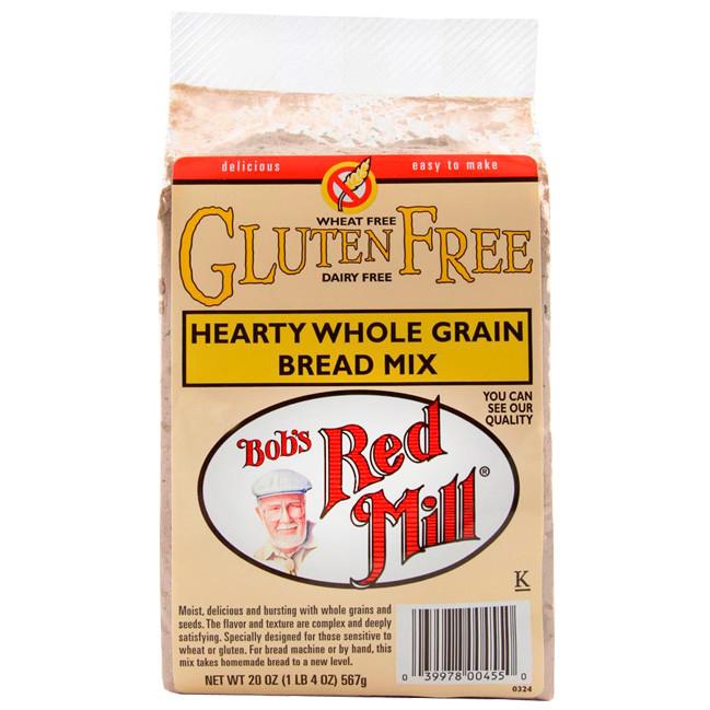 Gluten Free Bread Mix  Bob s Red Mill Gluten Free Hearty Whole Grain Bread Mix 20