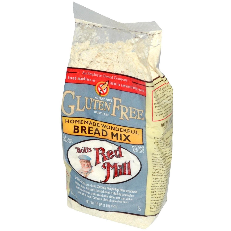 Gluten Free Bread Mix  Bob s Red Mill Gluten Free Homemade Wonderful bread Mix