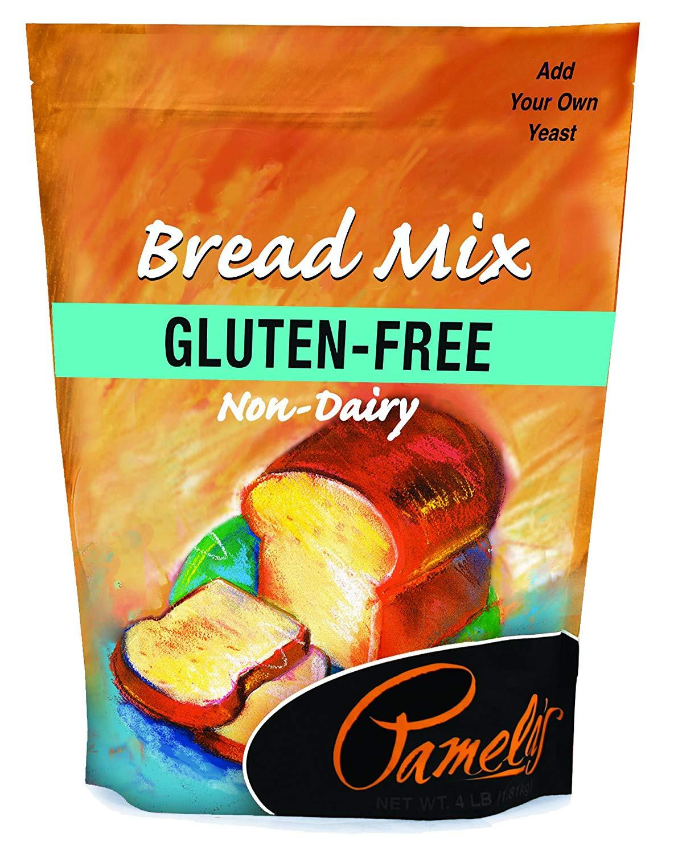 Gluten Free Bread Mix  Pamela s Products Gluten free Bread Mix 4 Pound Bags