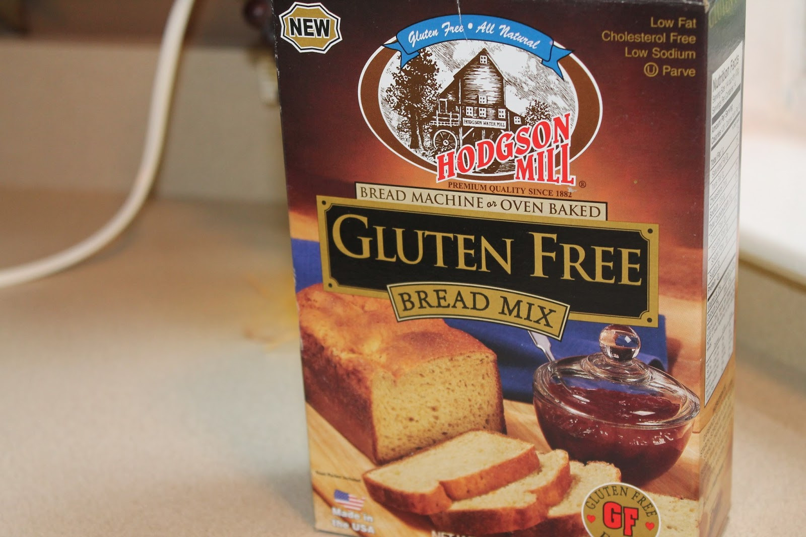 Gluten Free Bread Mix  Naturally Sweet Sisters Diabetes and Crafts Hodgson Mill