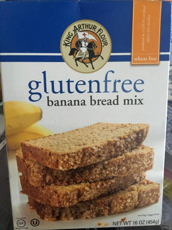 Gluten Free Bread Mix  King Arthur Flour Gluten Free Banana Bread Mix Raving