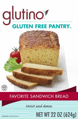 Gluten Free Bread Mix  Glutino Gluten Free Pantry Favorite Sandwich Bread Mix 22