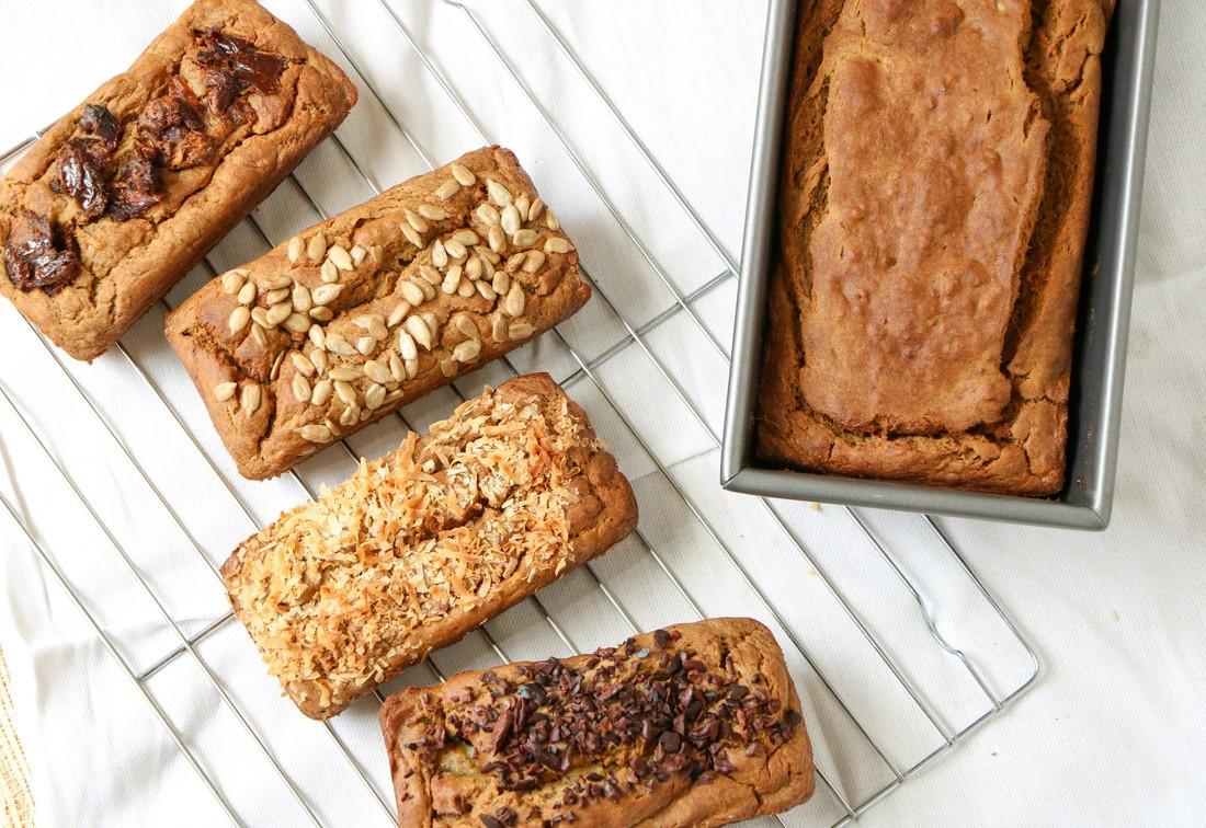 Gluten Free Bread Options  Gluten Free Banana Bread with Four Fun Options Lone Star